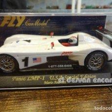 Slot Cars: SLOT FLY. PANOZ LMP-1. USA ESPECIAL EDITION. MARIO ANDRETTI. Lote 237321590