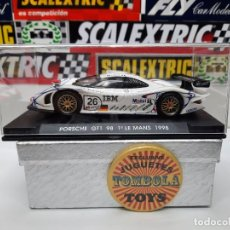 """Slot Cars: PORSCHE GT1 """" LE MANS 1998 """" #26 """" MOBIL """" FLY SCALEXTRIC !!. Lote 237386325"""