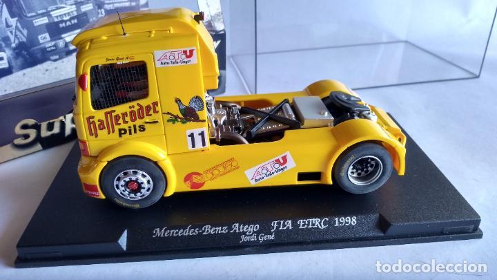 Slot Cars: FLY CAR MODEL, MERCEDES BENZ ATEGO FIA ETRC 1998, GENÉ. VÁLIDO SCALEXTRIC. NUEVO EN URNA - Foto 5 - 237661050