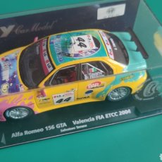 Slot Cars: ALFA ROMEO 156 GTA VALENCIA FIA ETCC 2004 FLY CAR MODEL REF 88146 NUEVO EN CAJA. Lote 237860940