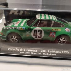 Slot Cars: FLY PORSCHE 911 CARRERA RSR 24H. LE MANS 1973 REF. 88184. Lote 237896680