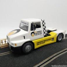 Slot Cars: EXCLUSIVO CAMIÓN SISU FLY GB TRACK EDICIÓN LIMITADA MOTORSHOW BOLOGNA 2011 - ¡UNICO!. Lote 238483420