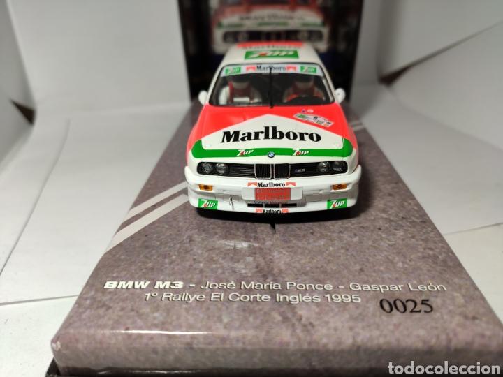 Slot Cars: FLY BMW M3 E30 RALLYE EL CORTE INGLES 1995 PONCE MOTORPORT COL.03 REF. 99071 - Foto 2 - 238680785