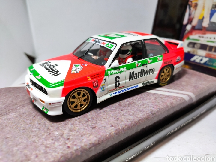 FLY BMW M3 E30 RALLYE EL CORTE INGLES 1995 PONCE MOTORPORT COL.03 REF. 99071 (Juguetes - Slot Cars - Fly)