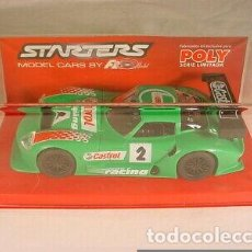 Slot Cars: FLY 87001 MARCOS LM 600 CASTROL NÚM. 2. Lote 239831765