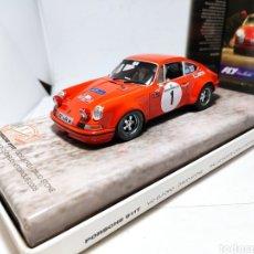 Slot Cars: FLY PORSCHE 911T RALLY MONTE CARLO HISTORIQUE 2008 VIC ELFORD REF. 99115. Lote 240584225