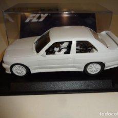 Slot Cars: FLY. BMW M3 E30 WHITE KIT. REF. FK2001. Lote 240927715