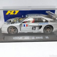 Slot Cars: FLY VENTURI 600 LM LE MANS 95 REF. A12. Lote 241031075