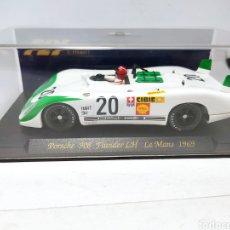 Slot Cars: FLY PORSCHE 908 FLUNDER LE MANS 1969 REF. C47. Lote 241322065
