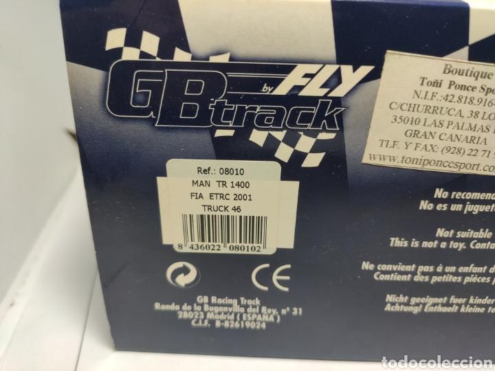 Slot Cars: FLY MAN TR 1400 FIA ETRC 2001 TRUCK 46 REF. 08010 GBTRACK - Foto 5 - 241495805