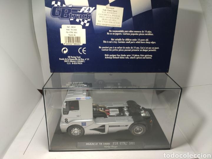 FLY MAN TR 1400 FIA ETRC 2001 TRUCK 46 REF. 08010 GBTRACK (Juguetes - Slot Cars - Fly)