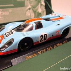 Slot Cars: PORSCHE 917 K LE MANS STEVE MCQUEN FLY NUEVO. Lote 241825875