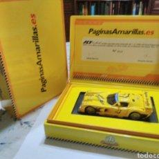 Slot Cars: PANOZ T7 PÁGINAS AMARILLAS DE FLY, COMO. SCALEXTRIC. Lote 241974220