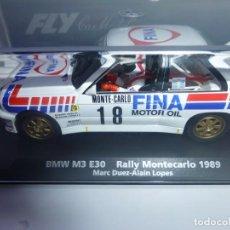 """Slot Cars: BMW M3 FINA """" PRECIOSO"""" CON FARERA. Lote 242911255"""