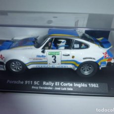 Slot Cars: PORSCHE 911 BENY RALLY CORTE INGLES 1982. Lote 242912080