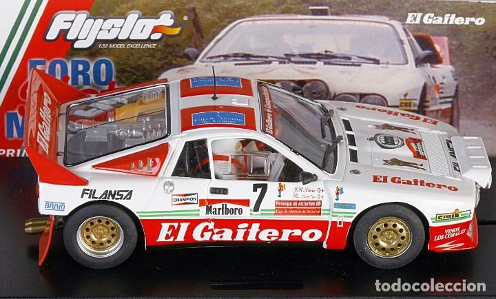 Slot Cars: FLY SLOT 1/32 LANCIA 037 RALLY PRÍNCIPE DE ASTURIAS Nº 7 - 1986 B CARDÍN - EL GAITERO COMPETICIÓN - Foto 3 - 243140950