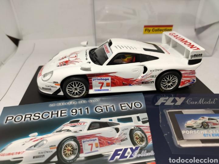 Slot Cars: FLY PORSCHE 911 GT1 EVO COLECCIÓN CRIN - Foto 2 - 243639100