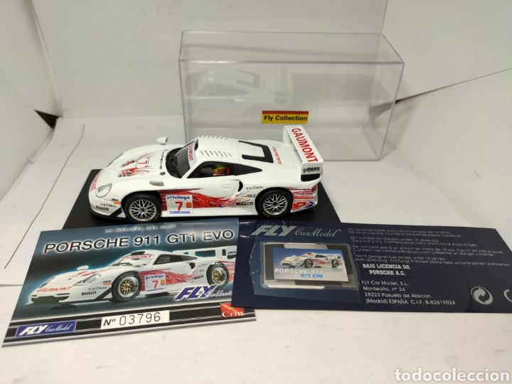 FLY PORSCHE 911 GT1 EVO COLECCIÓN CRIN (Juguetes - Slot Cars - Fly)
