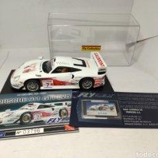 Slot Cars: FLY PORSCHE 911 GT1 EVO COLECCIÓN CRIN. Lote 243639100