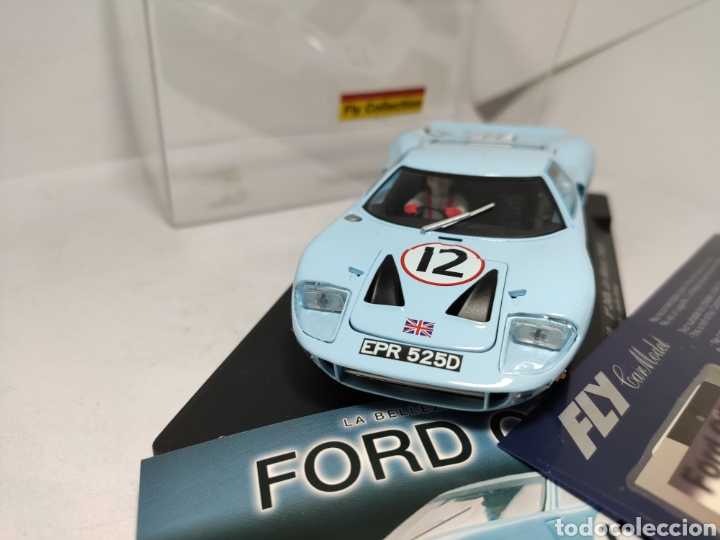 Slot Cars: FLY FORD GT40 COLECCIÓN CRIN - Foto 3 - 243641280