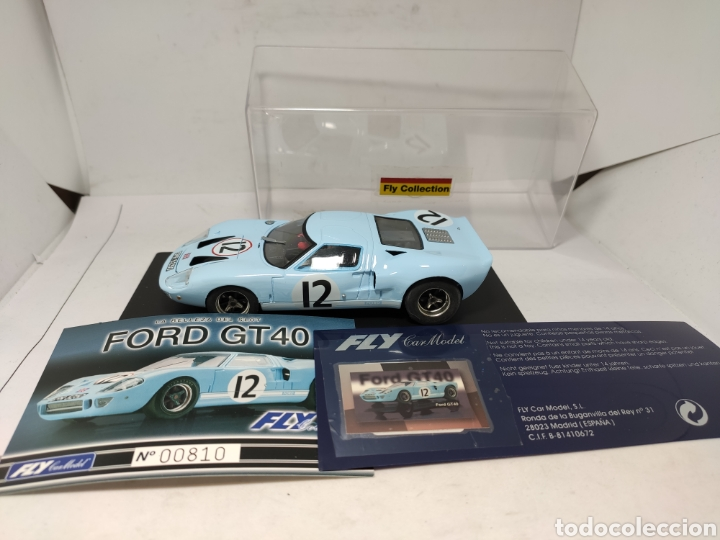 FLY FORD GT40 COLECCIÓN CRIN (Juguetes - Slot Cars - Fly)