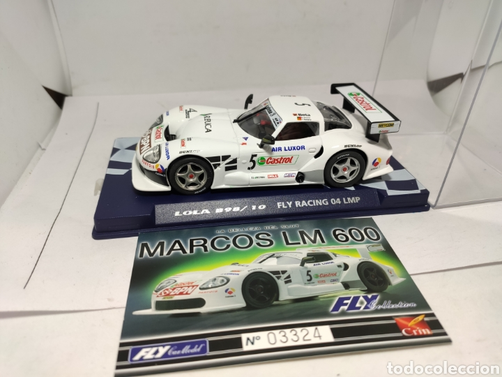 FLY MARCOS LM 600 COLECCIÓN CRIN (Juguetes - Slot Cars - Fly)
