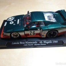 Slot Cars: LANCIA BETA MONTECARLO 6 HORA MUGELLO 1980 GB TRACK. Lote 243967505