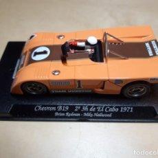 Slot Cars: CHEVRON B19 2º EN LAS 3 HORAS DE EL CABO 1971. Lote 243968625