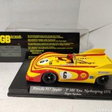 Slot Cars: FLY PORSCHE 917 SPYDER 5° 300 KM. NURBURGRING 1972 GB TRACK REF. GB7. Lote 244025660