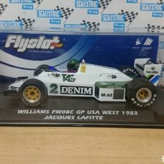 Slot Cars: WILLIAMS FW08C 1983 JACQUES LAFITTE FLY SLOT SCALEXTRIC. Lote 244554160
