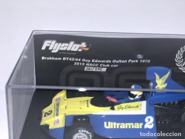 Slot Cars: NSCC Fly Slot 62301 Brabham BT44 Oulton Park 1976 Ultramar Edición 275 unidades - Foto 2 - 244619410