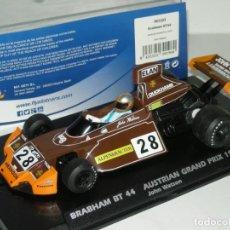 Slot Cars: F1 BRABHAM BT 44 WATSON FLYSLOT/SCALEXTRIC NUEVO EN CAJA. Lote 244771510
