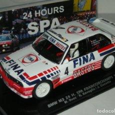 Slot Cars: BMW M3 E30 FINA BASTOS FLY/ SCALEXTRIC NUEVO EN CAJA. Lote 244771590