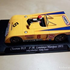 Slot Cars: CHEVRON B19 1º EN LAS 3 HRS LOURENÇO MARQUES 1971. Lote 244900770