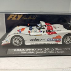 Slot Cars: FLY LOLA B98/10 24H LE MANS 1999 REF. 88039. Lote 246555390