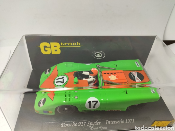 Slot Cars: FLY PORSCHE 917 SPYDER INTERSERIE 71 GB TRACK REF. GB3 - Foto 2 - 246723785