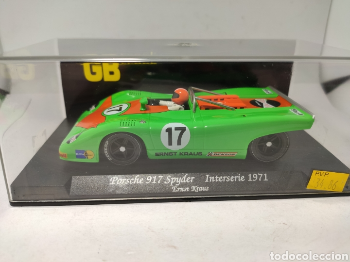 FLY PORSCHE 917 SPYDER INTERSERIE 71 GB TRACK REF. GB3 (Juguetes - Slot Cars - Fly)