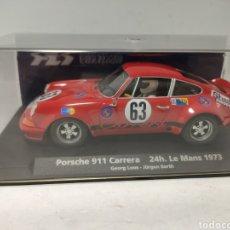 Slot Cars: FLY PORSCHE 911 CARRERA 24H. LE MANS 1973 REF. 88140. Lote 246728680
