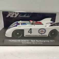 Slot Cars: FLY PORSCHE 908/3 TEST NURBURGRING 1971 MARTINI C60 REF. 88056. Lote 246741665