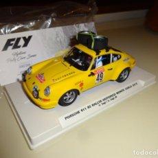 Slot Cars: FLY. PORSCHE 911 RS. RALLYE HISTORICO MONTECARLO 2015. V. SAGI. REF. E2021. ULTIMA UNIDAD. Lote 268451019