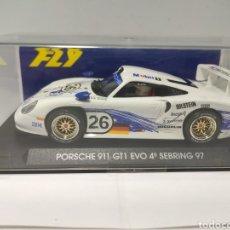 Slot Cars: FLY PORSCHE GT1 EVO MOBIL REF. A51. Lote 248662790