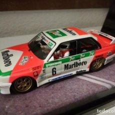 Slot Cars: FLY 99071 BMW M3 E30 J.M. PONCE - G. LEON - 1° RALLY CORTE INGLES 1995. Lote 249063385