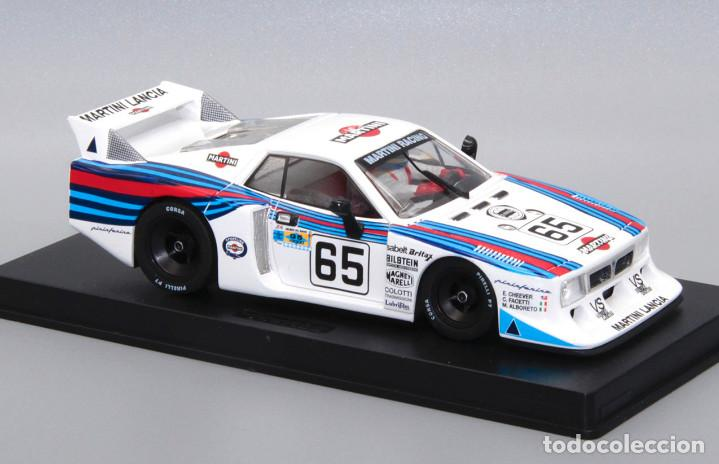 Slot Cars: Lancia Beta Montecarlo Martini (GB Track by Fly) completa el set Le Mans 1981 - Foto 3 - 251484895
