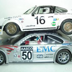 Slot Cars: LOTE DESGUACE BMW M3 GTR Y PORSCHE 911 FLY MODEL CAR. Lote 251944640