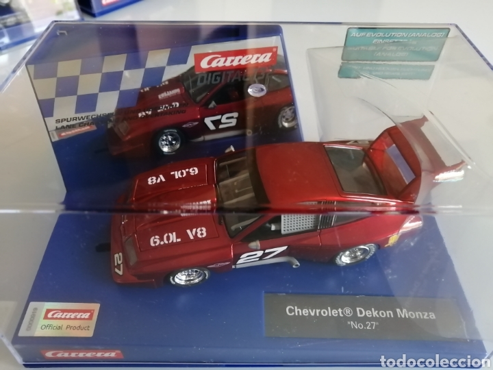 Slot Cars: 20030905- CHEVROLET DEKON MONZA DIGITAL DE CARRERA - Foto 2 - 253451960