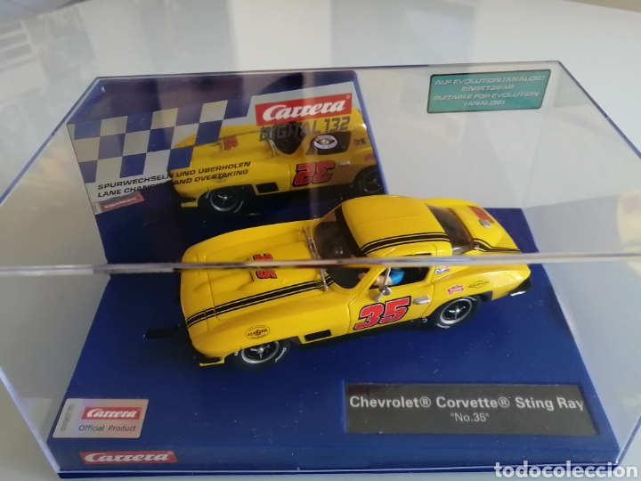 Slot Cars: 20030906 - CHEVROLET CORVETTE STIN RAY Nº35 DIGITAL DE CARRERA - Foto 2 - 253453500