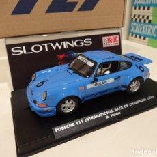 Slot Cars: FLY. SLOTWINGS. PORSCHE 911 IROC 1973. HULME. REF. W036-05. Lote 253725315
