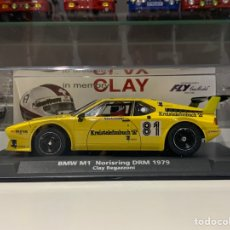 Slot Cars: FLY BMW M1 CLAY REGAZZONI. Lote 253786105