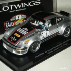 Slot Cars: PORSCHE 911 CARLOS SAINZ SLOTWINGS/SCALEXTRIC NUEVO EN CAJA. Lote 253819015