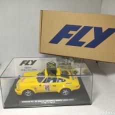 Slot Cars: FLY PORSCHE 911 RS RALLYE HISTORICO MONTE CARLO 2015 LIMITED EDITION REF. E2021. Lote 254307165